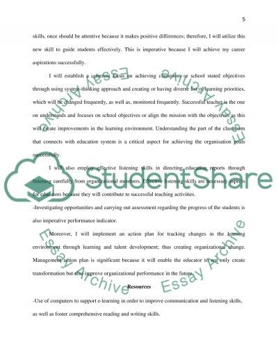 personal learning plan essay More learning essay topics 2 think of an example of a time you have received feedback from others that has improved your knowledge, skills and understanding.