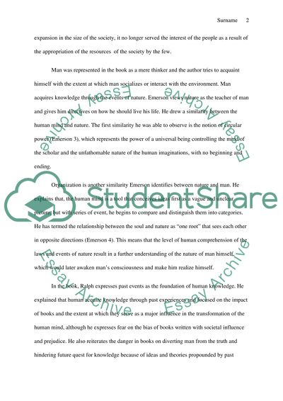 Do My Assignment For Cheap Analysis The American Scholar By Ralph Walldo Emerson Can I Pay Somebody To Do My Assignment also What Is A Thesis Of An Essay Analysis The American Scholar By Ralph Walldo Emerson Essay A Level English Essay Structure