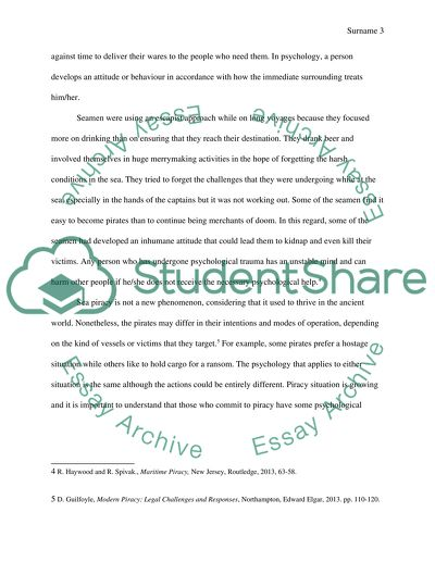 essays on online pirates