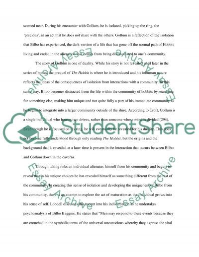 """essay example on the hobbit written """"the hobbit"""" by j r r tolkien has a more complex viewpoint than one might expect for a children's book the tolkien society notes that the narrative of """"the hobbit"""" is third person, which means that the narrator talks about the characters by their names and uses third-person pronouns such as """"he,"""" """"she"""" and """"it""""."""