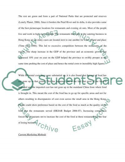 Research Methodologies essay example