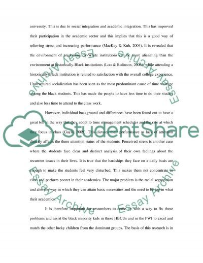 Students Attending essay example