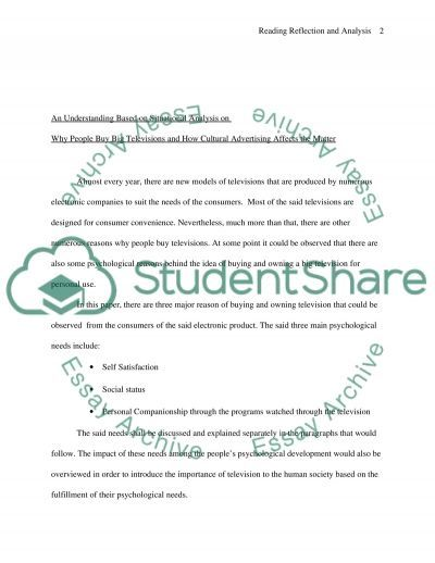 Text, Image, Culture essay example