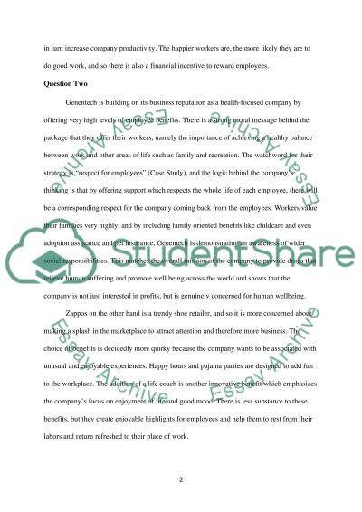 Human Resource Management: Case Study