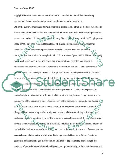 Essay on shamanism eu competition law essays