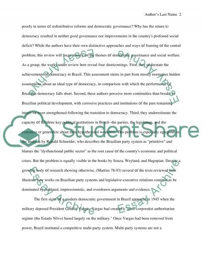 Is it political culture, social cleavages or inherited institutions that has the most significant influence on the current problems facing the consolidation of essay example
