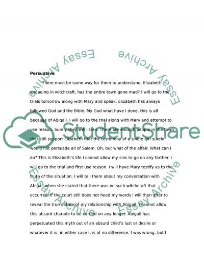 the crucible character diary project  john proctor essay