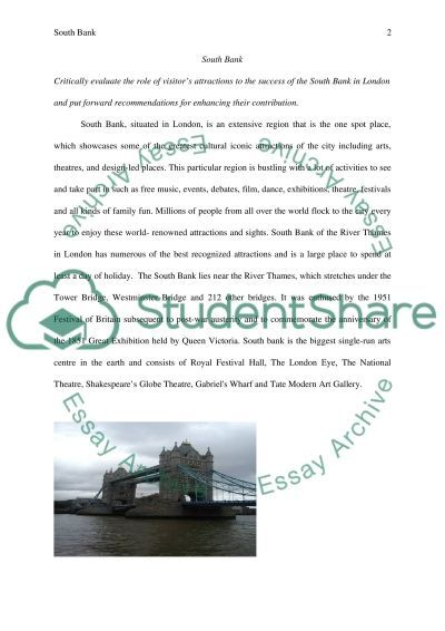 Essay on South Bank