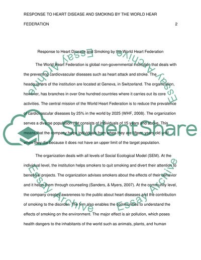 Final SEM paper Essay Example   Topics and Well Written Essays - 750