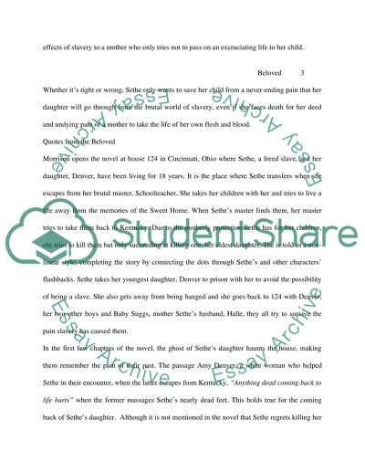 Beloved Essay Examples - Free Research Papers on blogger.com