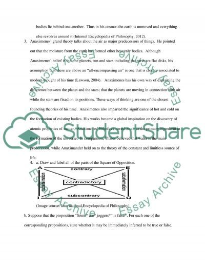 Midterm Questions essay example