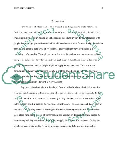 ethics and morality essay topics