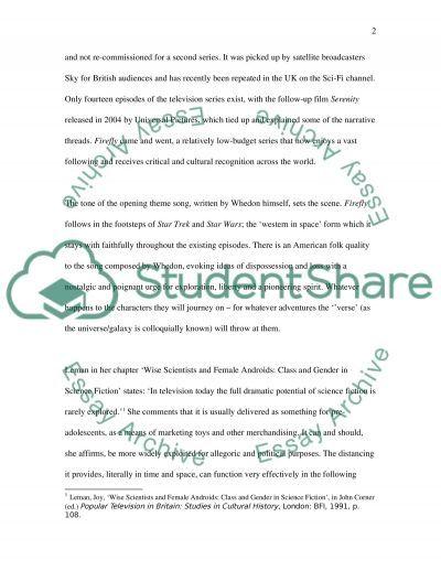 Science Fiction Essay essay example