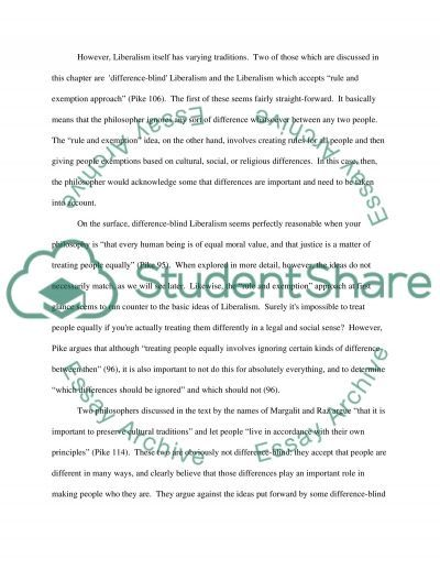 Assignment 6 essay example