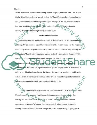 Patient Safety Research Paper essay example