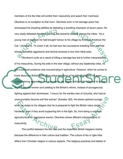 things fall apart research paper pdf