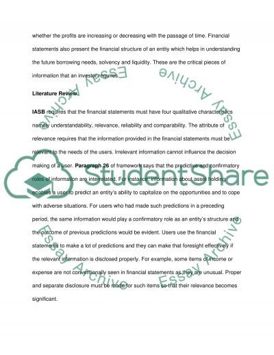 Relevance and Reliability essay example