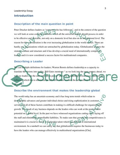 Essay In English Language Leadership Essay How To Write A Thesis For A Narrative Essay also English Debate Essay Leadership Essay Example  Topics And Well Written Essays   Words Persuasive Essay Examples High School