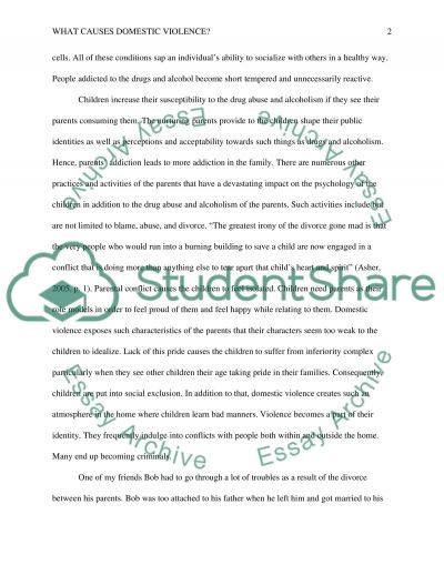 An essay about school violence