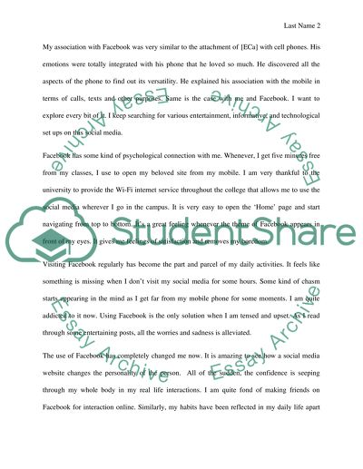 Essay about readings