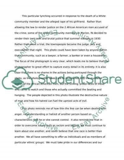 Writting photoessay essay example