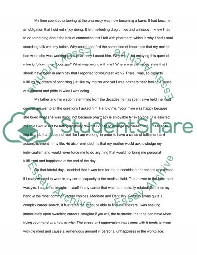 optometry school personal statement example topics and well  optometry school essay example