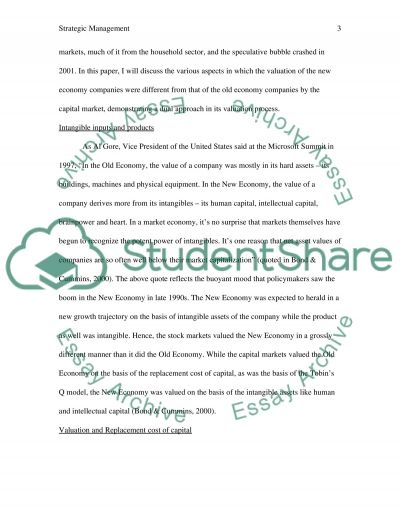 Strateg.management essay example
