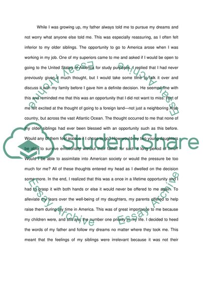 Writing to Share Experiences