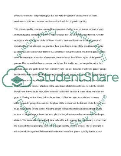 Social and Ethical Issues of COmputer Science Speech or Presentation