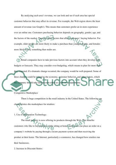 Economic Conditions essay example