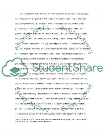 primary source essay example