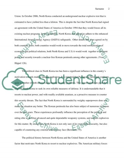 nuclear threat briefing essay example topics and   nuclear threat briefing essay example