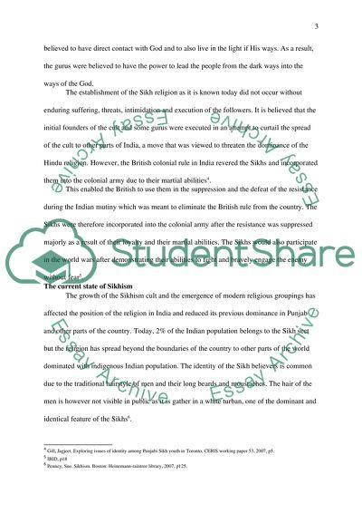 essay on sikhism