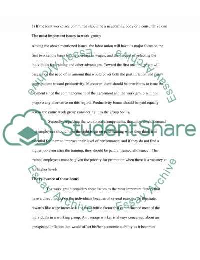 A negotiation plan essay example