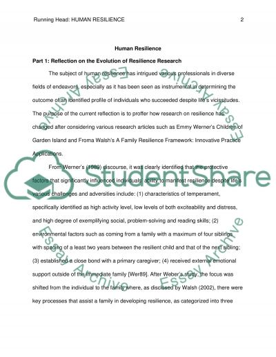 human resilience essay example topics and well written essays  human resilience essay essay example