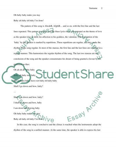 Third paper essay example