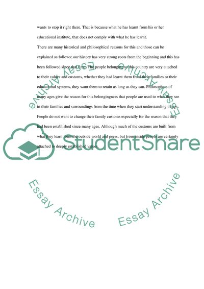 Foundation Statements: A documented essay in parts essay example