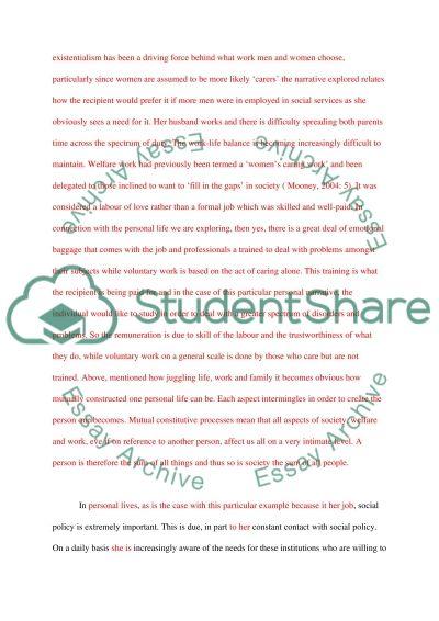 Social Policy Essay essay example