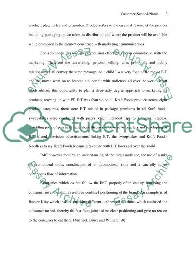 Marketing Communications strategies, tactics essay example