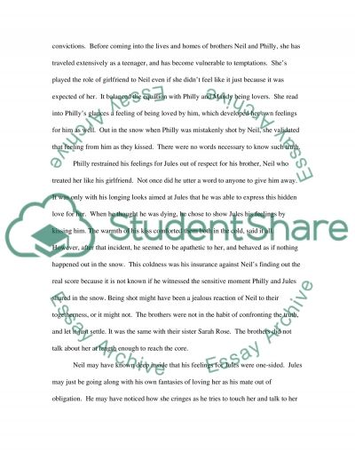 Research Enhanced Interpretation of a Short Story