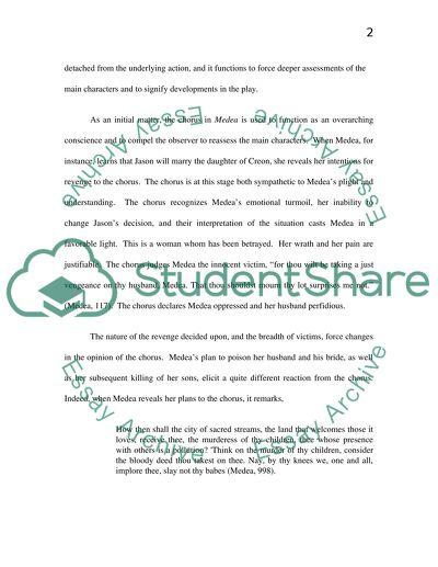 Medea essay topics