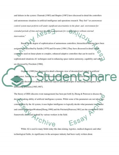 AUTONOMOUS GROUND VEHICLE CONTROL essay example