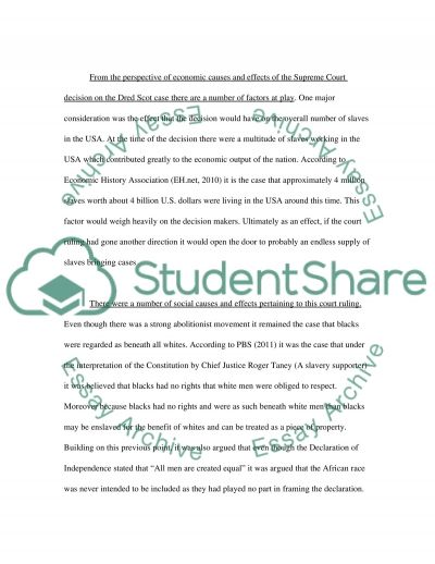 the dred scott decision 3 essay Dred scott essay examples 19 total results a case study of the dred scott decision, a landmark decision by the united states supreme court  the dred scott court.