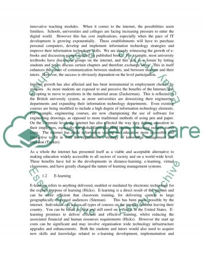 Learning Managment System essay example