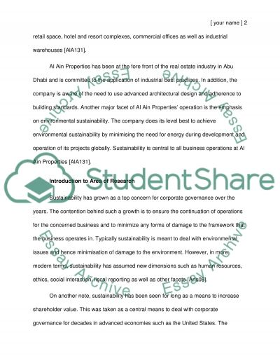 Measuring Sustainability in a manufacturing /operation Organization essay example
