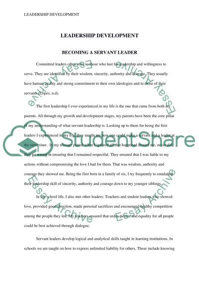 Journal 1 essay example