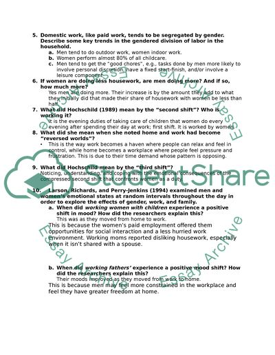 Fill out review sheet