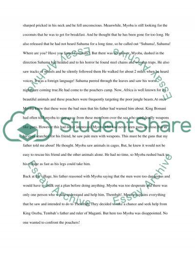 Story essay example