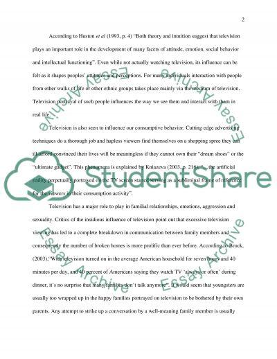 Media Essay essay example