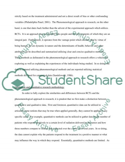 Methods Of Research essay example
